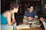 Entrevistando a Ang Lee en Donostia.